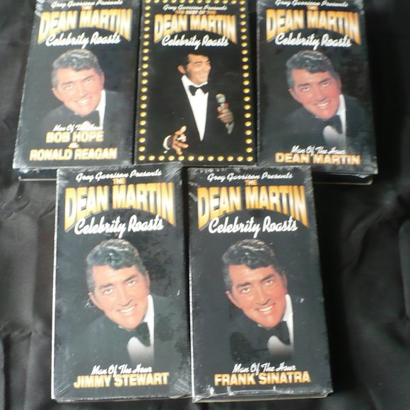 ❤️ TV SHOWS VHS THE DEAN MARTIN CELEBRITY ROASTS